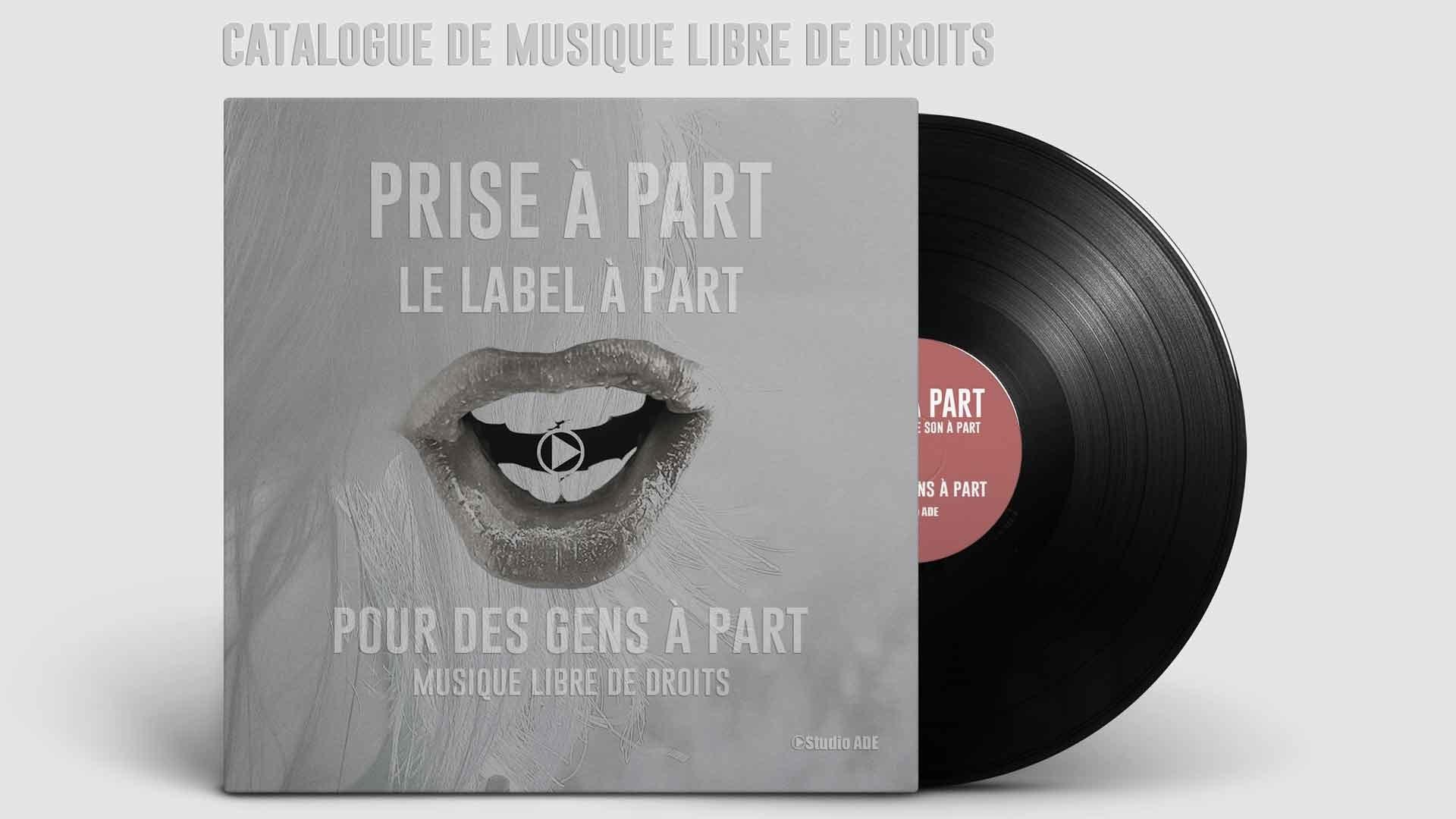 Pochette Vinyl musique gratuite pour vos productions